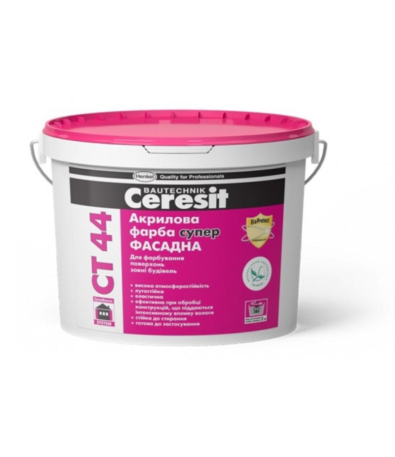 Фасадная акриловая краска Ceresit СТ 44