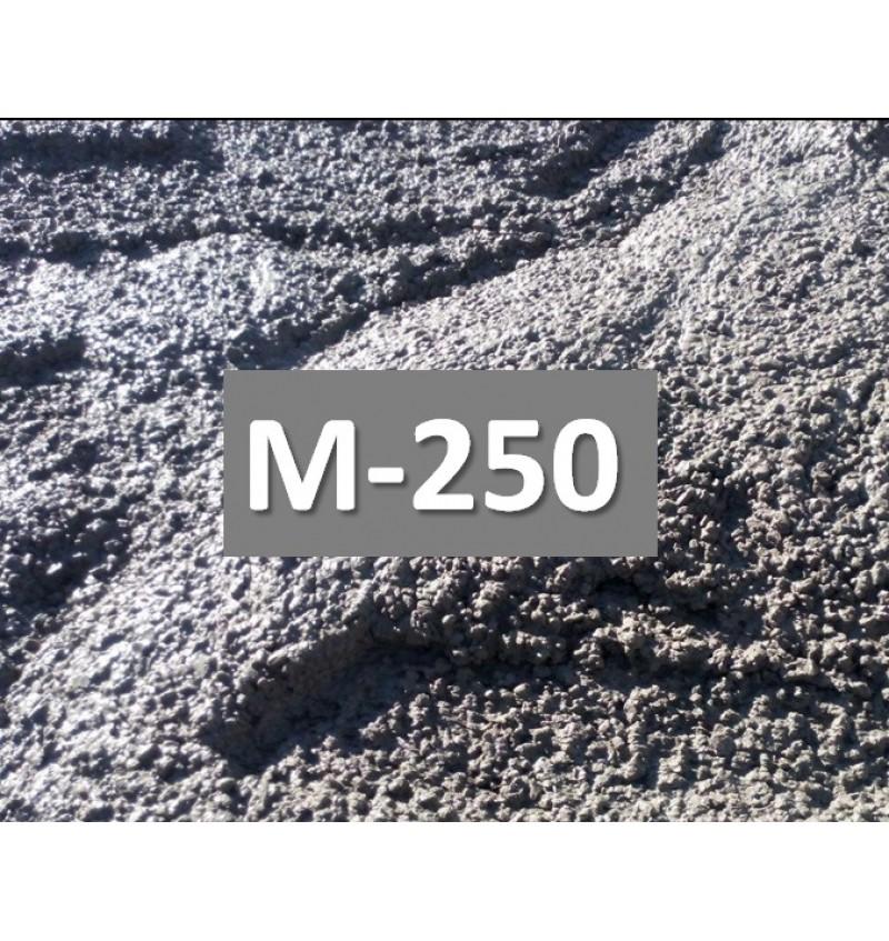 Бетон М250 с замедлителем