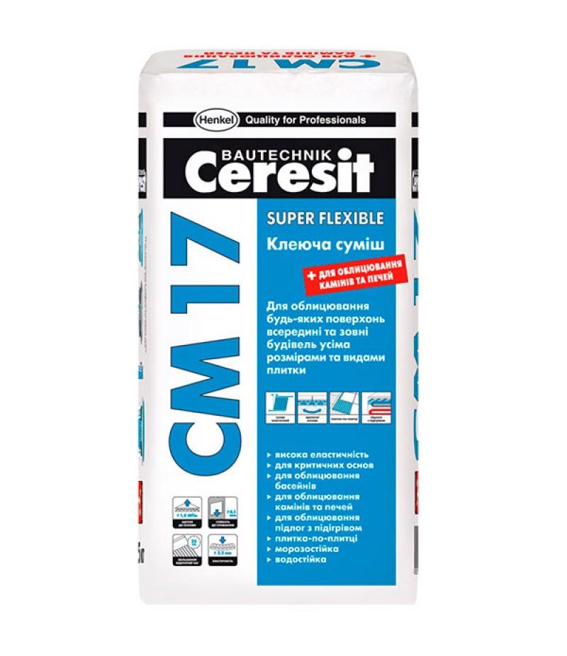 Ceresit СМ 17 Клей для плитки  25 кг