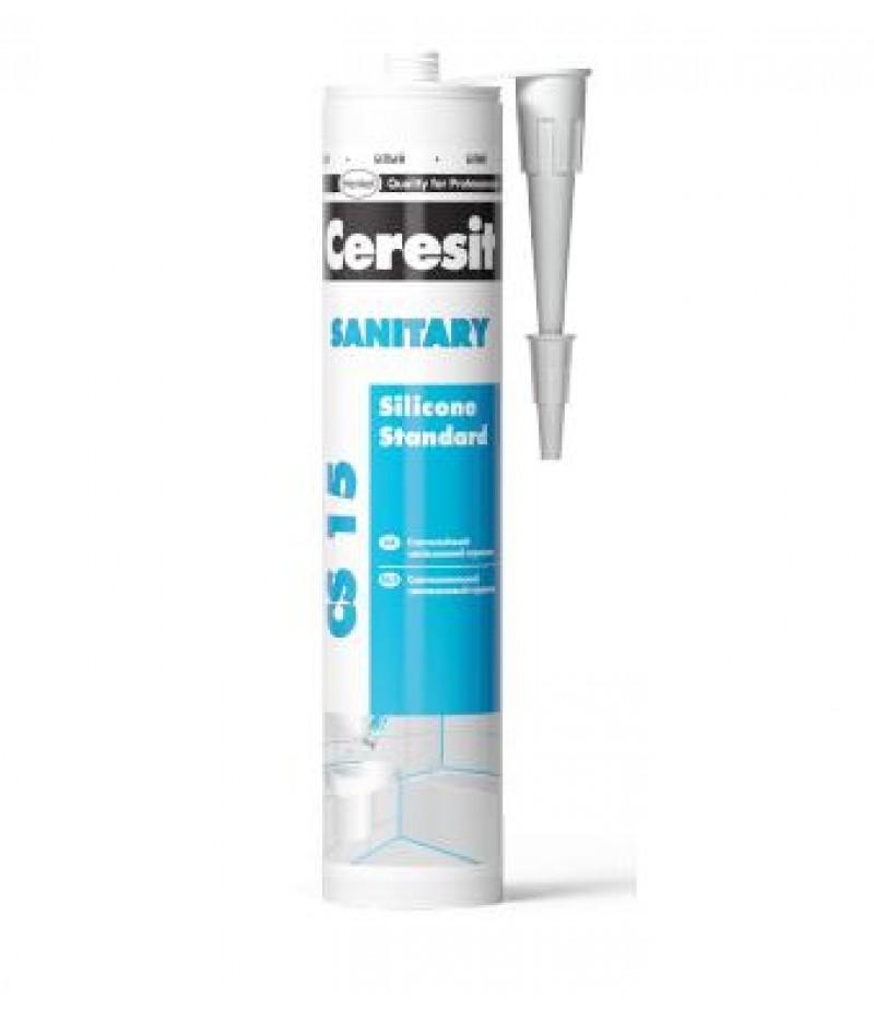 Герметик Ceresit CS15 санитарный БЕЛЫЙ