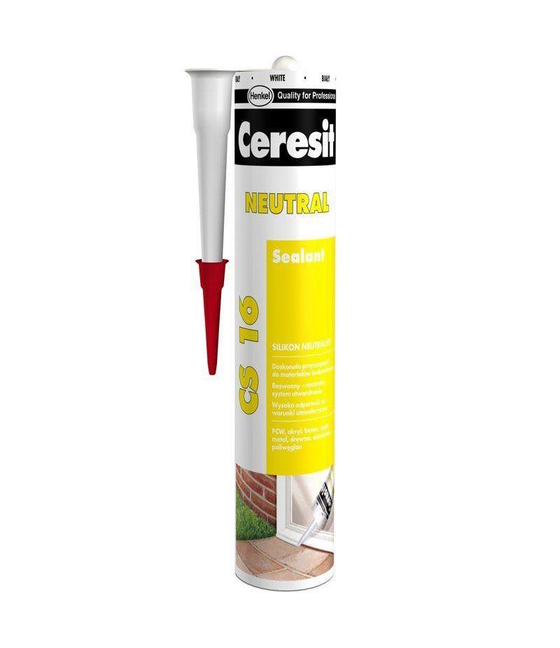Герметик Ceresit CS16 силиконовый нейтральный