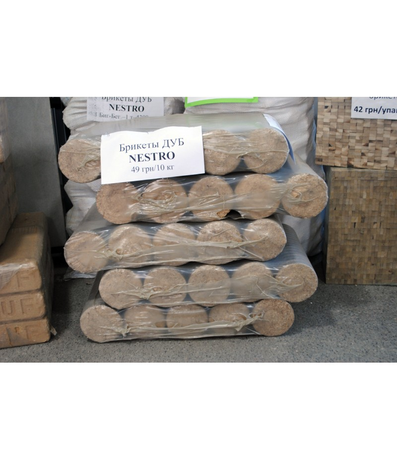 Брикеты древесные NESTRO