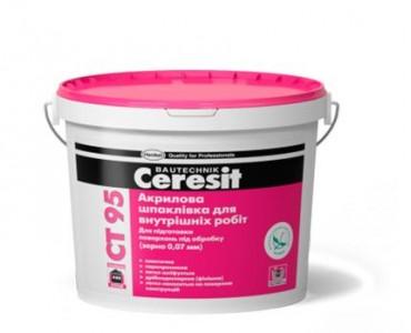 Шпаклевка Ceresit СТ 95 Акриловая (для внутренних работ)