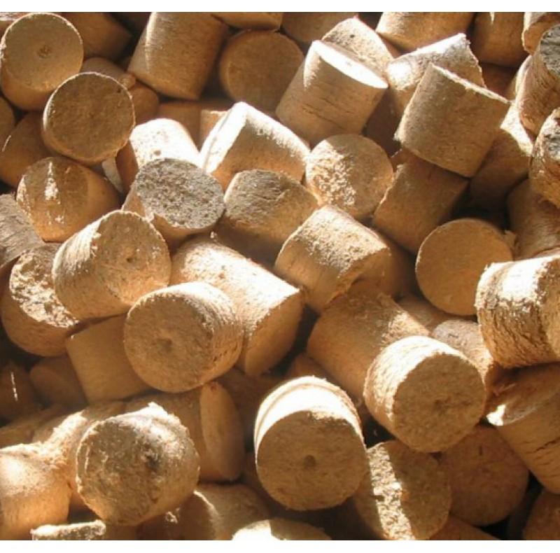 Брикеты древесные в мешках