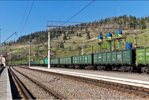 Перевал груза ЖД транспортом